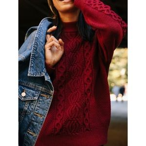 UO Maroon sweater